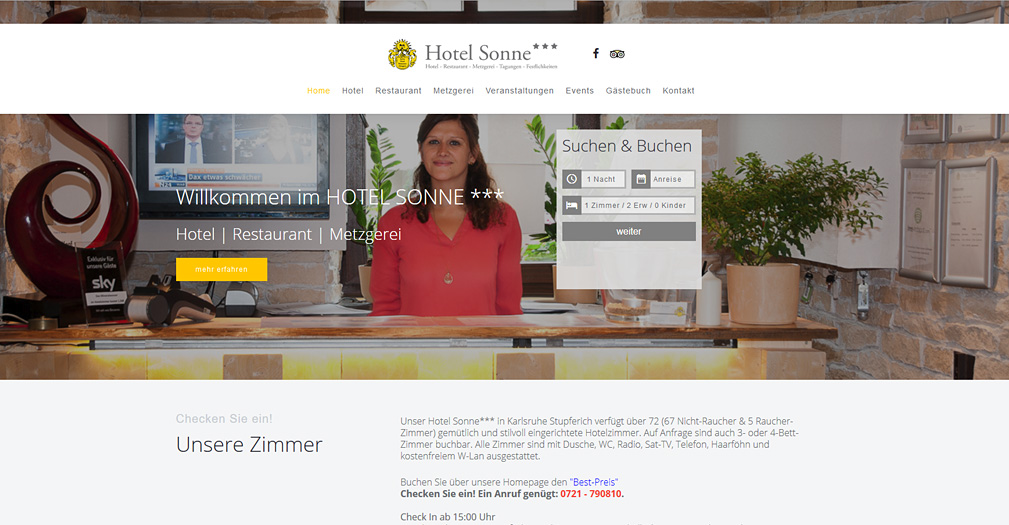 Webdesign ettlingen webdesigner f r websites und shops for Design hotel karlsruhe
